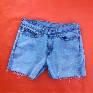 Vintage LEVIS Jeans cropped shorts